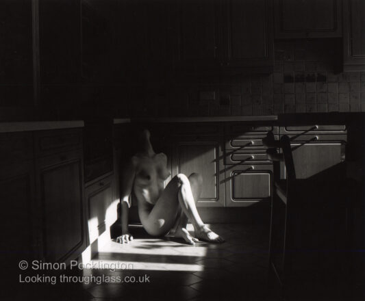 Creative black and white nude photography
