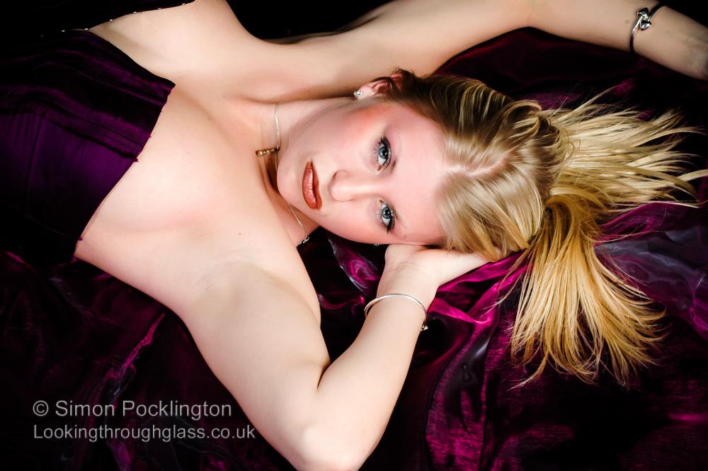 sexy boudoir portrait
