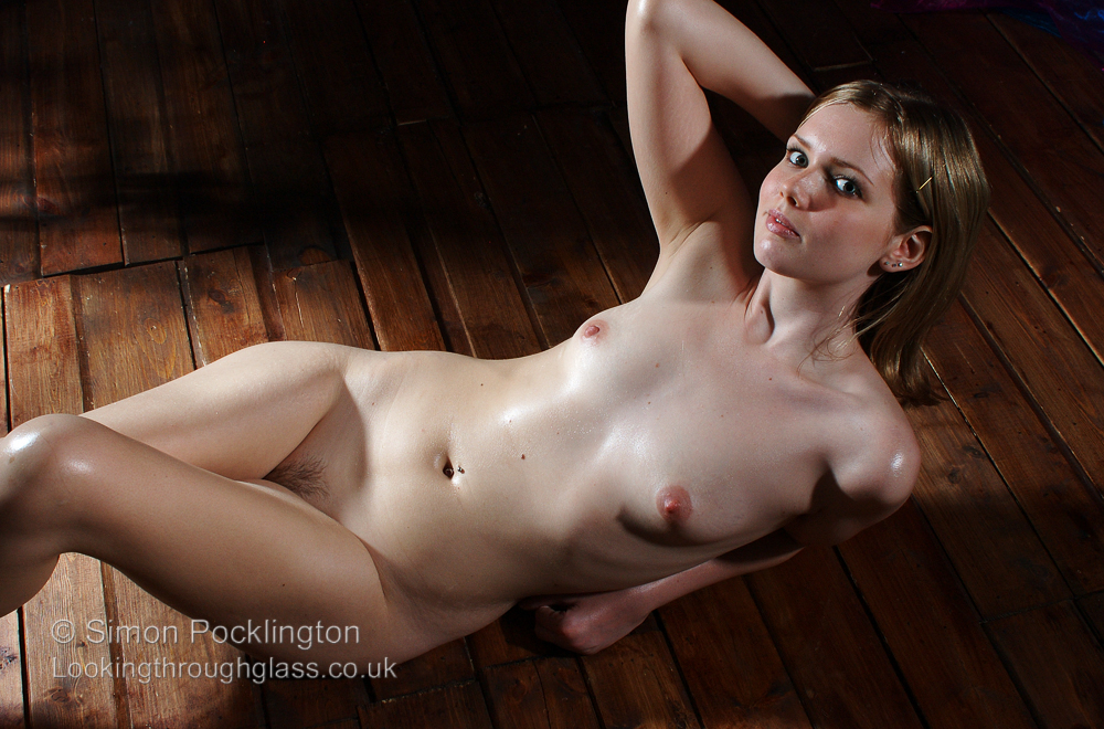 dramatic lighting artistic nude photograph