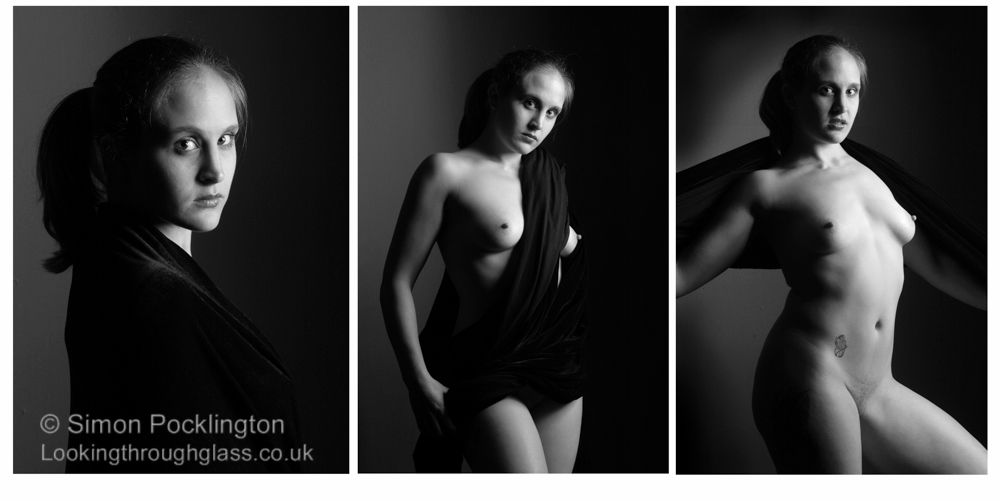 portrait nude woman