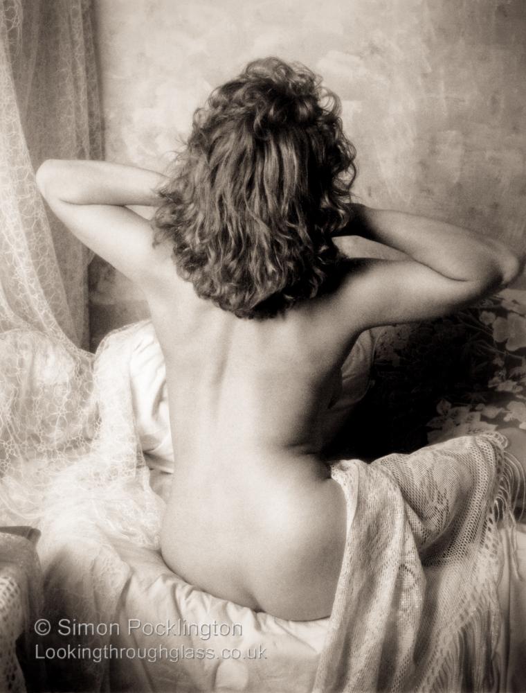 Fine art nude boudoir Vintage style