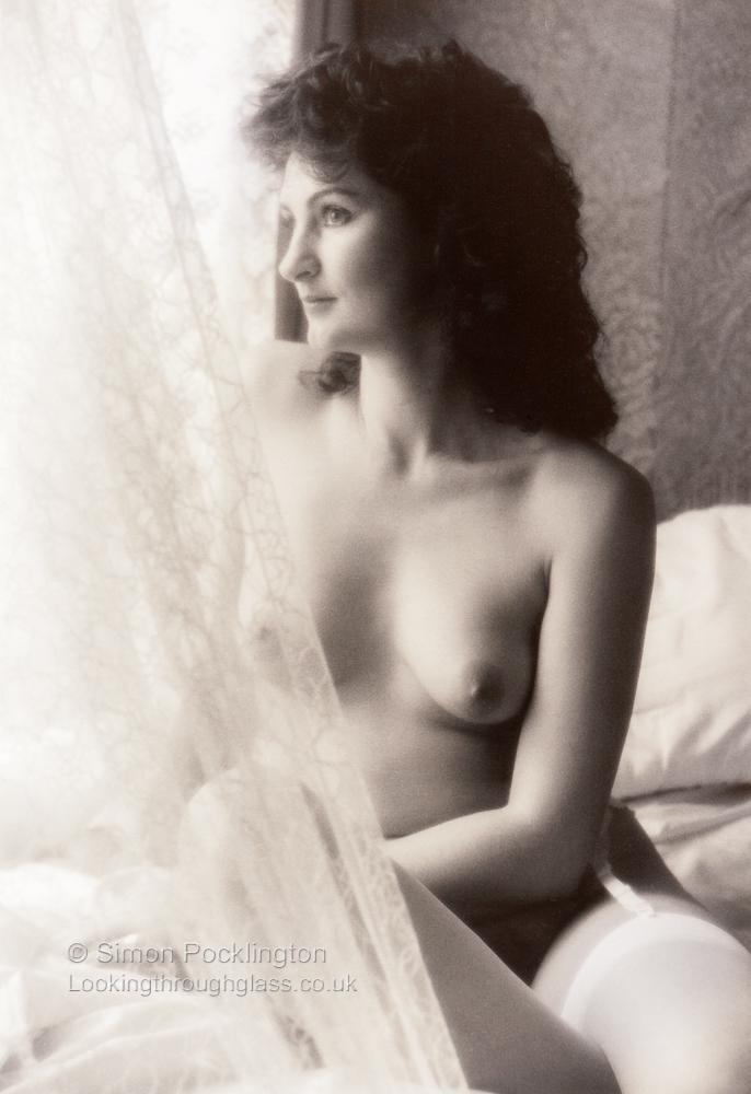 Victorian style portrait nudes