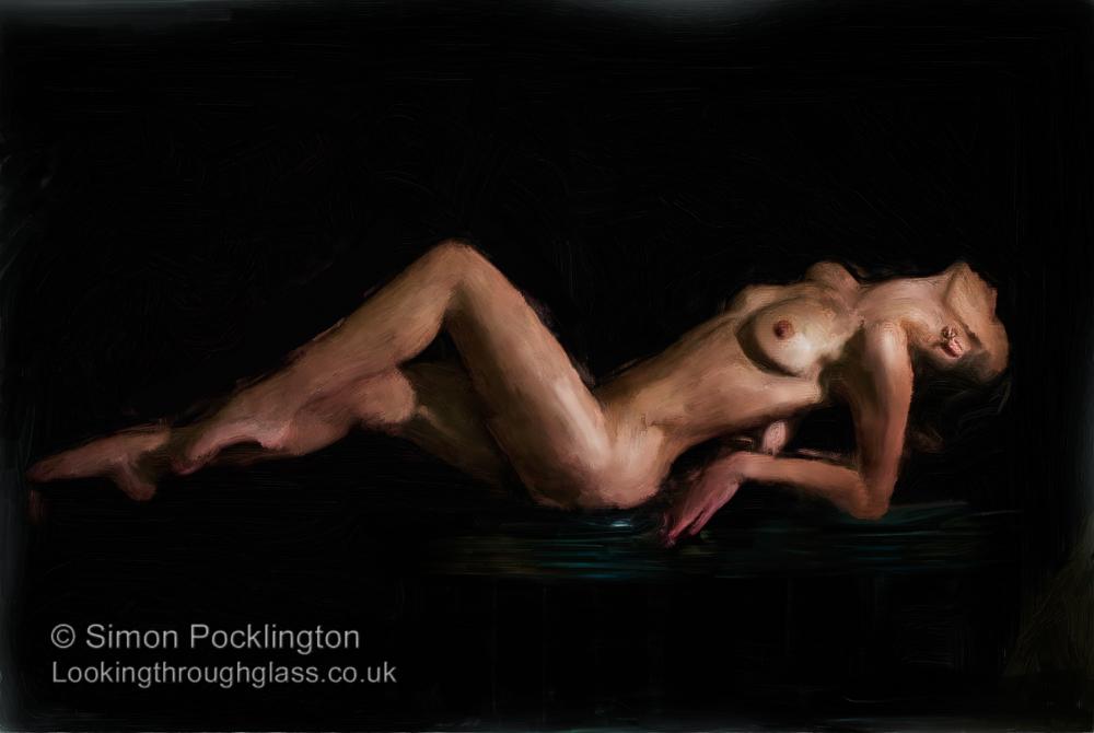 digital painting nudes