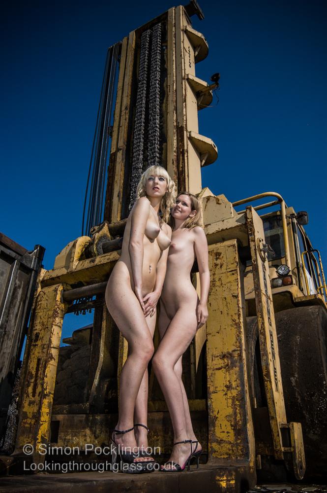 Scrapyard girls glamour nudes