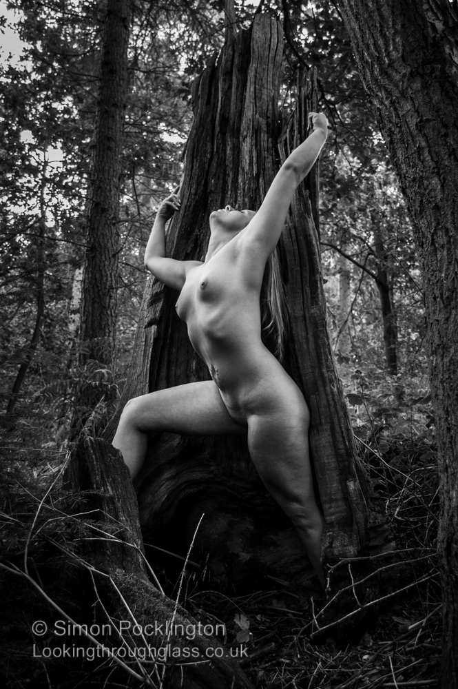 Fine art nude photograph Outdoor nude