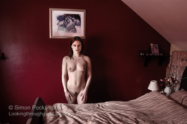 black and white nude portraits women