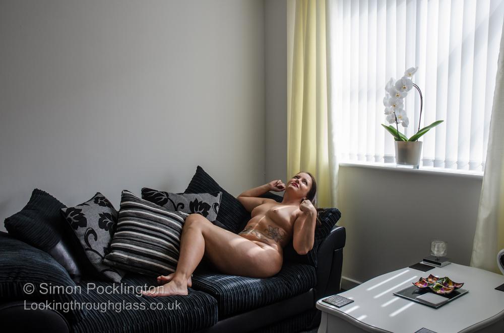 Personal space fine art nude portrait