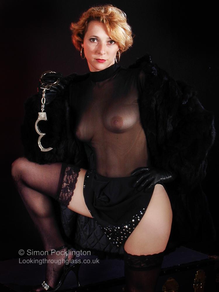 Fetish boudoir photo