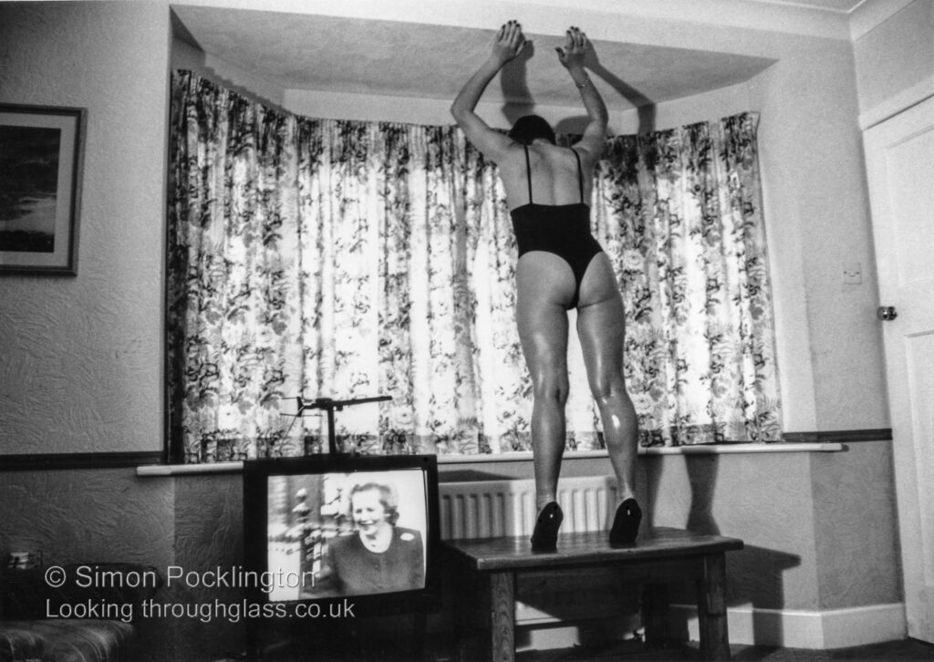 The Thatcher Years from a collection of slightly strange surreal female nude photographs