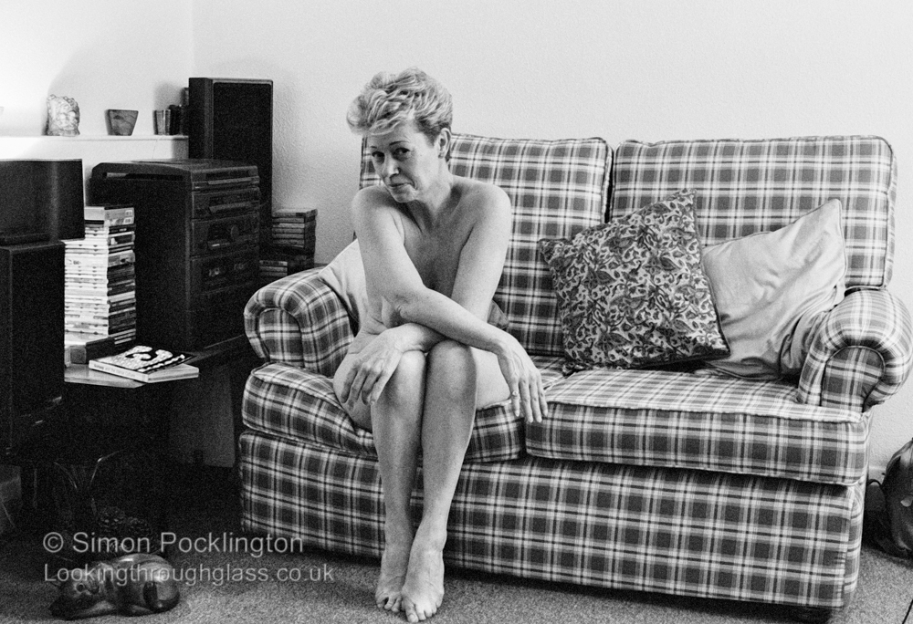 naked women portraits in black and white